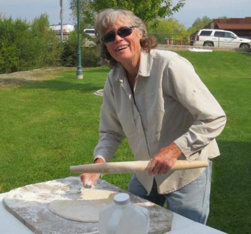 LCHS President Cindy Phelps